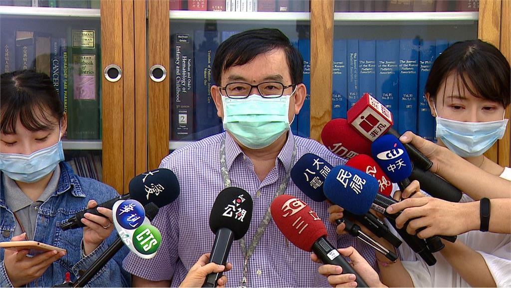 黃立民研判,香港日前確診的台籍女子在台灣被感染的可能性較高。圖:台視新聞