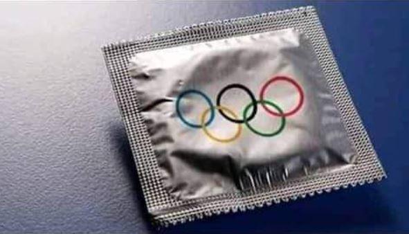 東京奧運這次發放的保險套,只有上屆里約奧運的1/3。圖/翻攝自推特