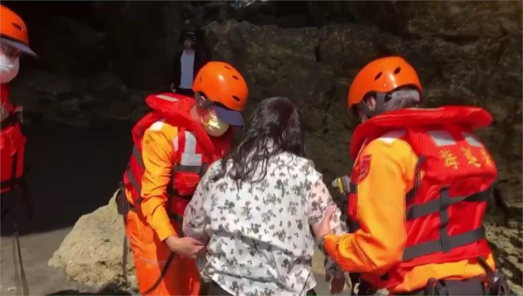 探訪秘境柴山海蝕洞 57歲女意外落海