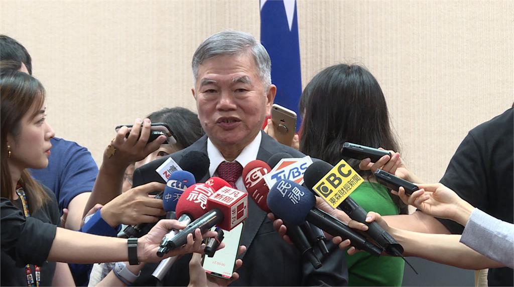 經濟部長沈榮津證實,太平島沒有油氣。圖:台視新聞