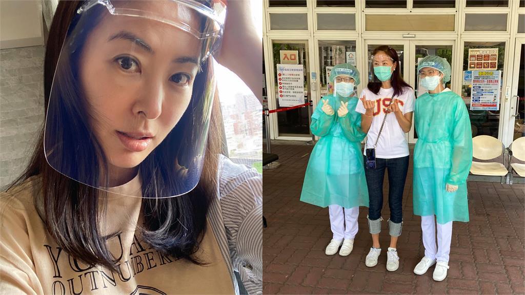 賈永婕再開「美少女新任務」 公公捐7台影像喉頭鏡