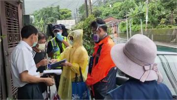 烟花外圍環流影響 新竹縣山區溪水暴漲急撤村