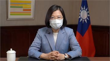 致謝立陶宛送2萬劑AZ疫苗 蔡英文:台灣將持續「...