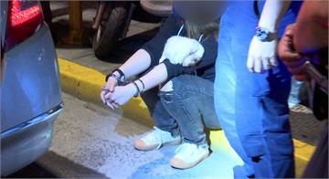 違規迴轉拒檢 通緝犯謊報身分警拆穿逮人