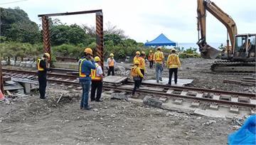 清水隧道鐵軌修復將完工 最快19號通車