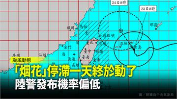 風雨愈晚愈大! 烟花不登陸掠過北部海面機率高