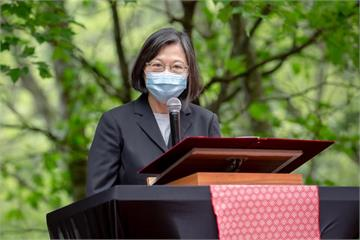 馬侃獎頒蔡英文 表彰台灣民主自由表現