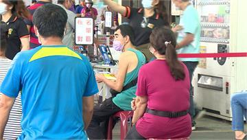 阻北農疫情擴散 板橋果菜市場攤商打疫苗