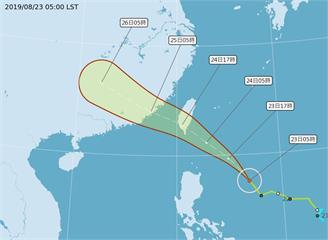 颱風白鹿發布海警 全台炎熱高溫上看36度