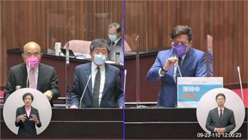 口誤稱「3+11會議」由陳宗彥召開 陳時中致歉、...