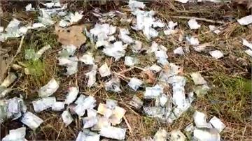 南蘇丹貨機墜落 天降「鈔票雨」民眾瘋搶