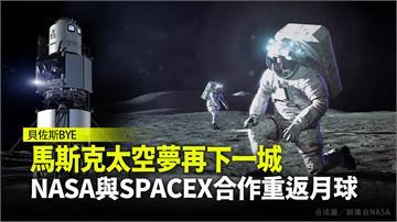 馬斯克太空夢再下一城 NASA與SPACEX合作...