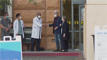 美前總統柯林頓病況穩定 希拉蕊陪伴出院
