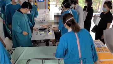 防疫旅館人員接種疫苗 桃園1男暈針急送醫