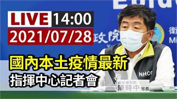 高端疫苗最新登記情況 指揮中心14:00記者會