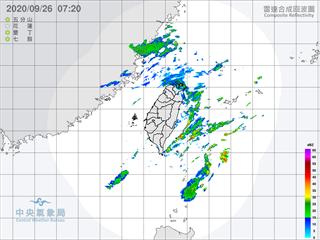 大台北地區濕涼有雨 中南部空品亮橘燈