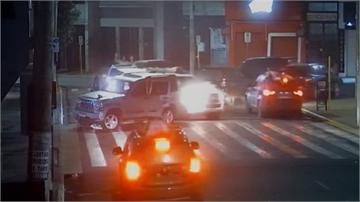 巴西誇張銀行劫案 竟把人質綁車外當「肉盾」