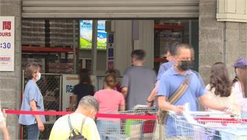 民眾自備護目鏡、手套避接觸 賣場「限購令」、電商...