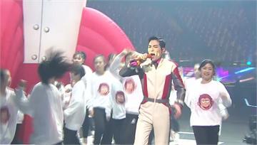 紅白開場嘉賓 蕭敬騰又唱又跳伴民眾迎新年