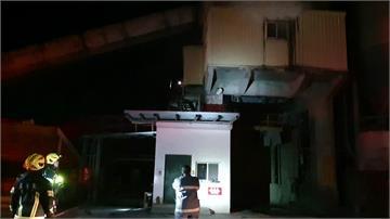花蓮亞洲水泥預拌廠火警 不斷竄出濃煙