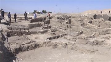 距今3千年 埃及「失落黃金城」挖掘7個月出土