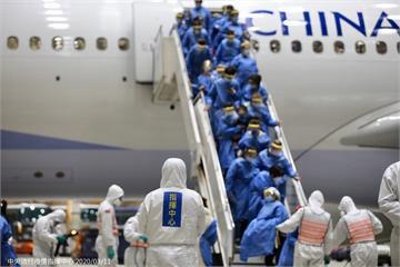 第2次武漢包機深夜抵台 361人分送3處檢疫所...