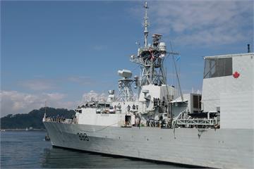 美軍第7艦隊證實!美加軍艦聯合通過台海