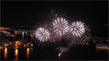今年國慶焰火重返高雄港 晚間試射270發
