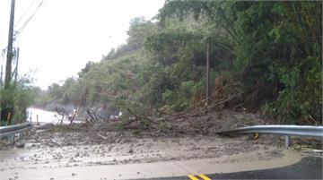 豪雨炸南部 南化、玉井多處邊坡坍方 水淹那瑪夏接...