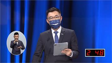 國民黨主席辯論會登場!江啟臣承諾:我不會選202...