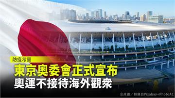 東京奧委會正式宣布 奧運不接待海外觀眾