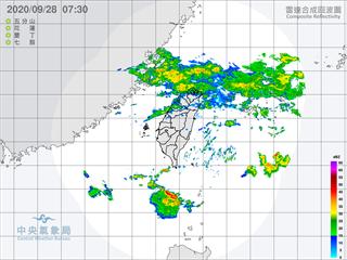 北北基發布大雨特報 北台灣整天濕涼