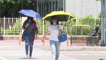 西部炎熱6縣市高溫警示 國慶連假迎風面有雨