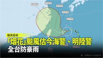 高雄、屏東大雨特報! 「烟花」颱風最快今發布海警