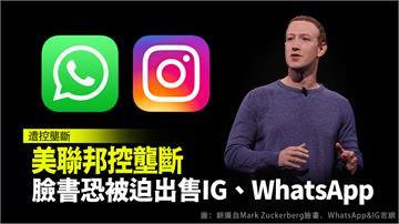 美聯邦控壟斷 臉書恐被迫出售IG、WhatsA...