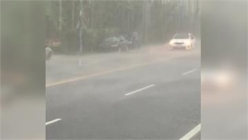 午後南投山區降大雨 魚池累積36.5毫米