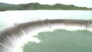 梅雨鋒面過境「大進補」 湖山滿水今年首溢流