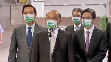 謝志偉「國旗告白」惹議 蘇揆:駐外人員要依憲法工...