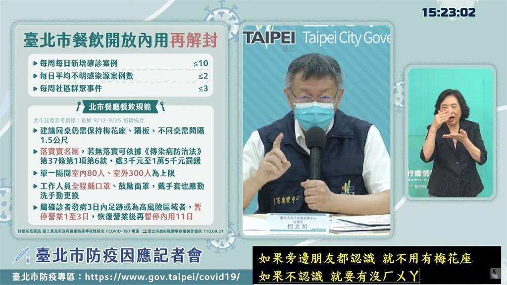 台北市長柯文哲。圖/翻攝自YouTube@柯文哲
