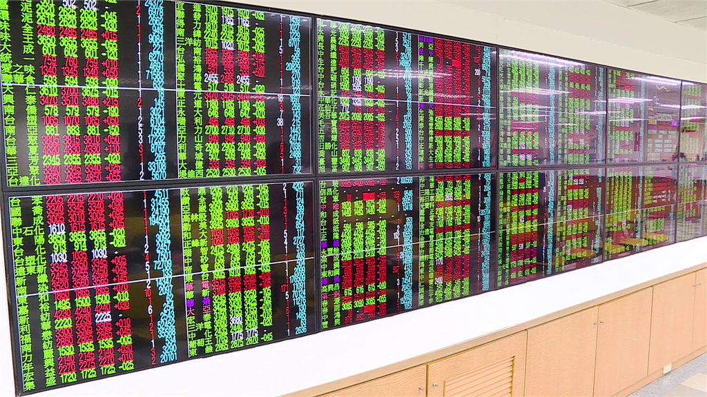 台股收盤下跌1.77點。圖/非凡新聞(資料照)