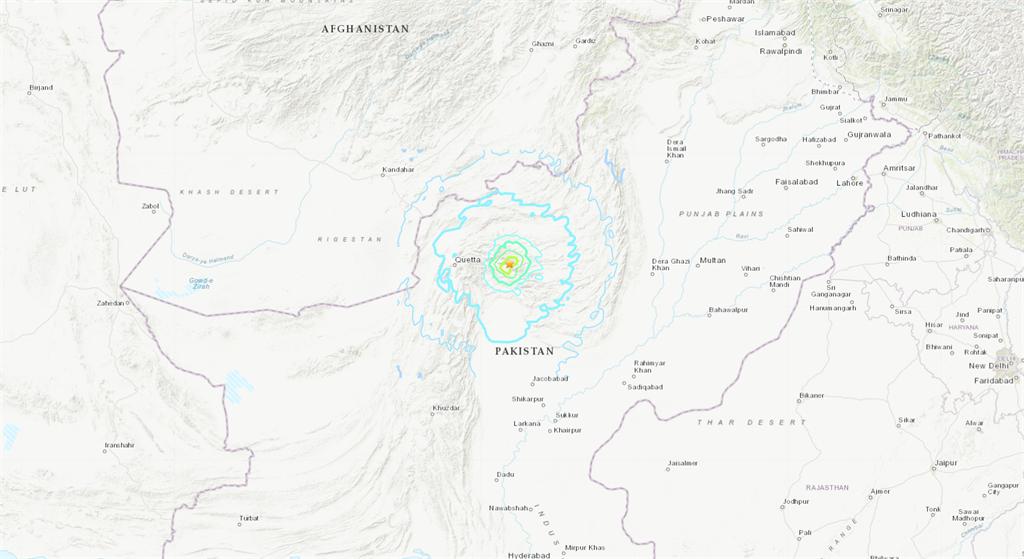 巴基斯坦凌晨5.7地震 釀20死、逾200人受傷
