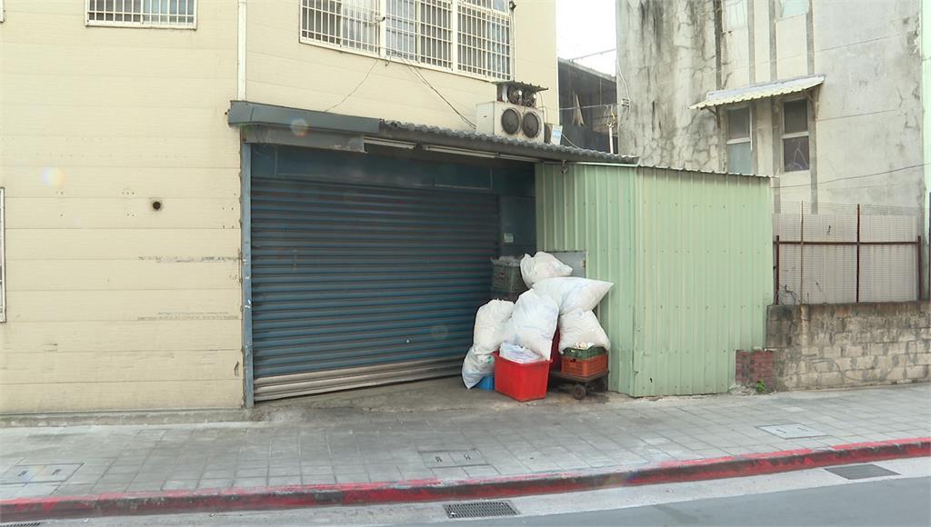 業者遭爆是「幽靈店家」大門深鎖。圖:台視新聞