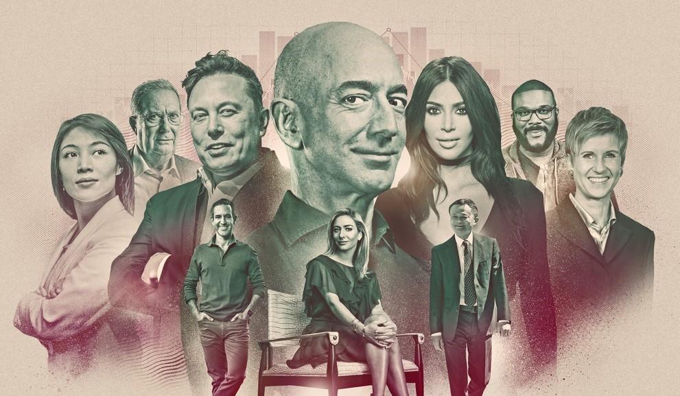 《富比士》公布2021年全球億萬富豪榜。圖/翻攝自Forbes官網