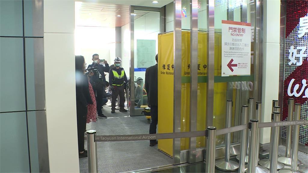 旅遊泡泡的臨時通道曝光!圖/台視新聞