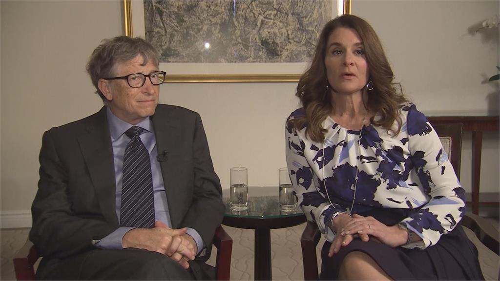 微軟創辦人比爾蓋茲跟妻子梅琳達離婚,27年婚姻走到盡頭。圖:AP