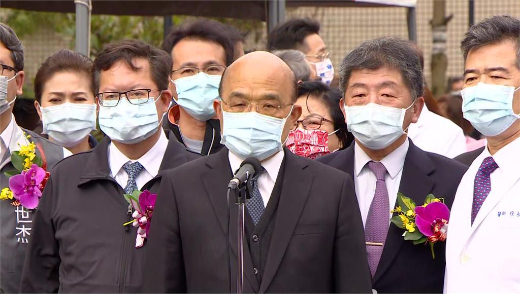 蘇貞昌、陳時中26日將在立院新會期說明採購疫苗計畫。圖:台視新聞