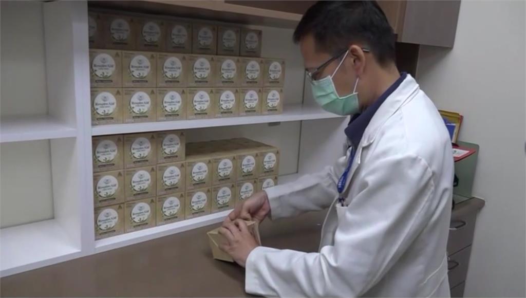彰化醫院將有25位病患服用台灣清冠一號。圖/台視新聞