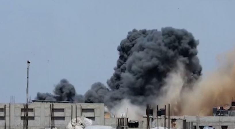 以巴戰火持續11天。圖/翻攝自AP direct