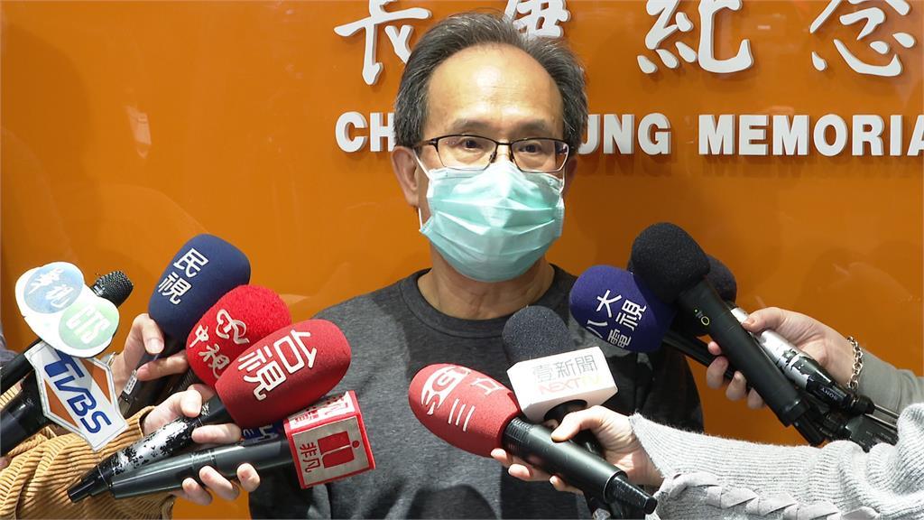 長庚醫院行政中心副總執行長顧問蘇輝成。圖:台視新聞