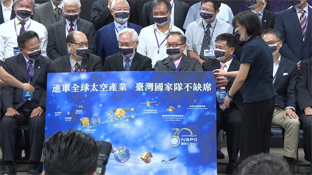 太空產業未來10年 林百里:台灣不能缺席